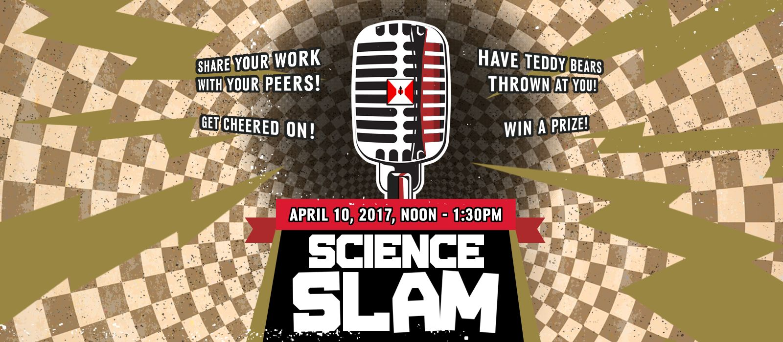 Second annual Science Slam is April 10