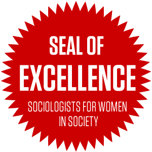 Seal of Excellence Sociologists for Women in Society